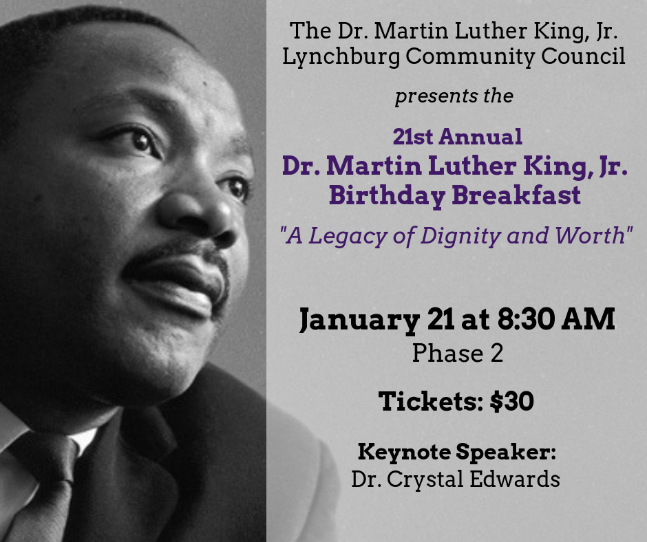 21st Annual Martin Luther King, Jr. Birthday Breakfast @ Phase 2 | Lynchburg | Virginia | United States