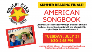Bright Star Touring Theatre: American Songbook @ Community Meeting Room