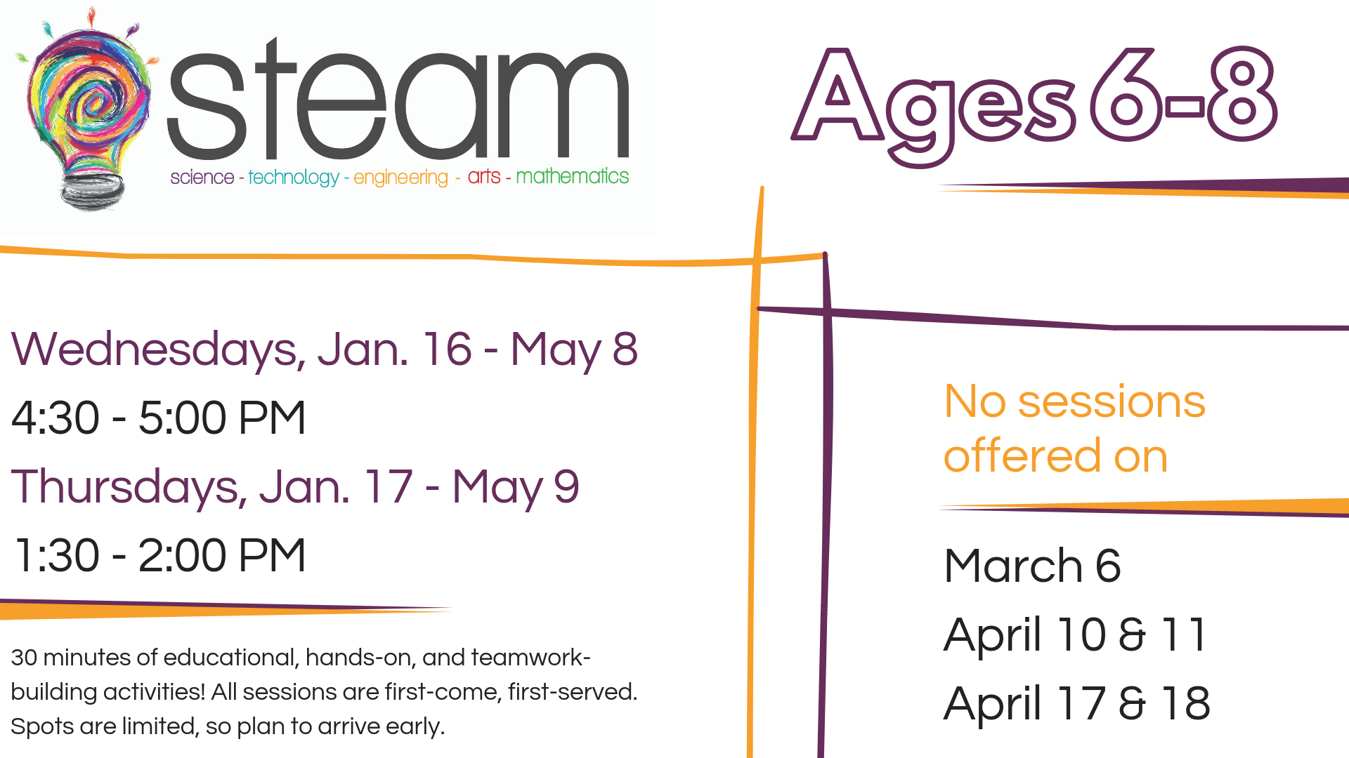 After School STEAM 6-8 yr. olds @ Youth Services Department | Lynchburg | Virginia | United States