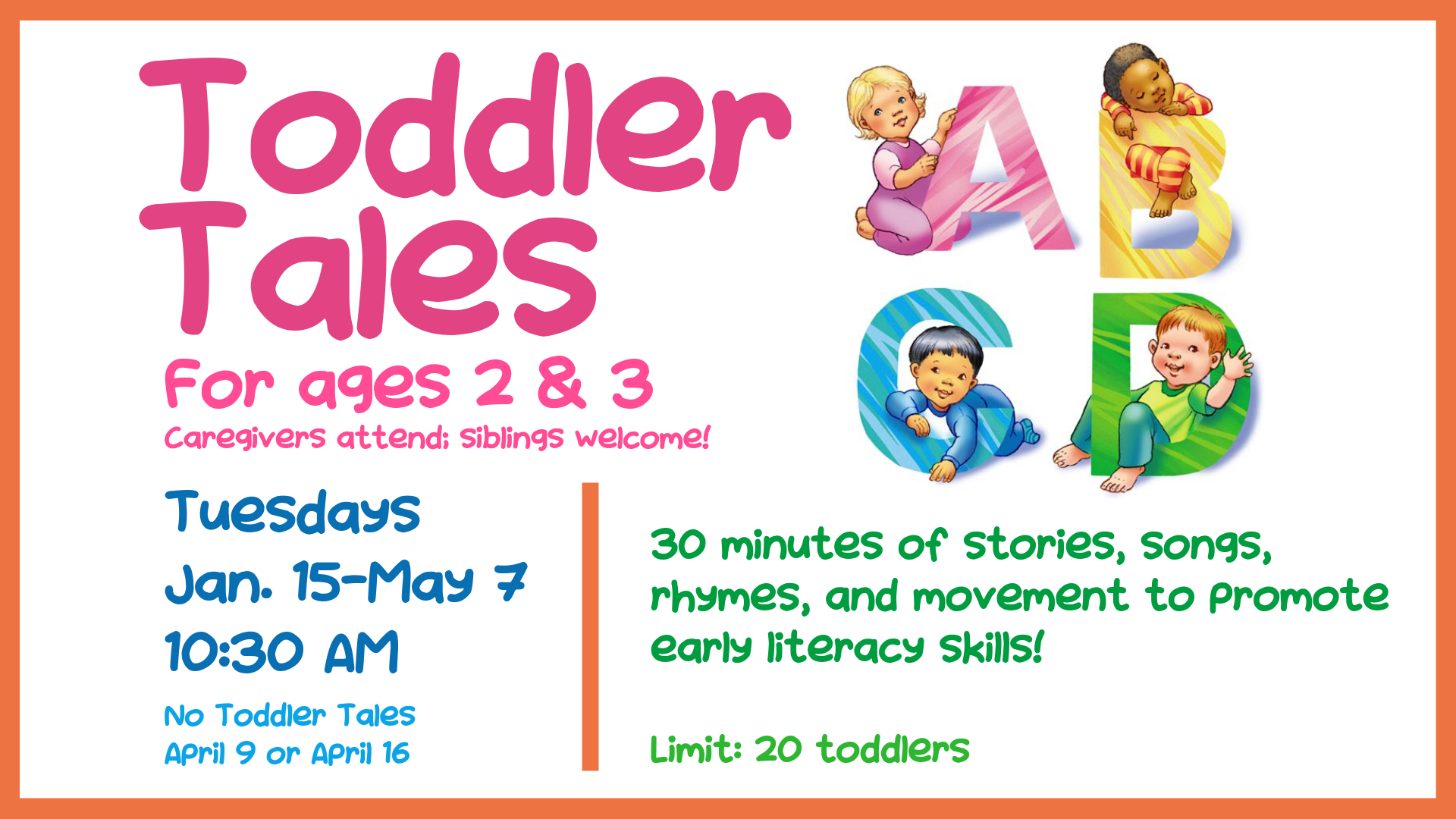 Toddler Tales @ Storytime Room