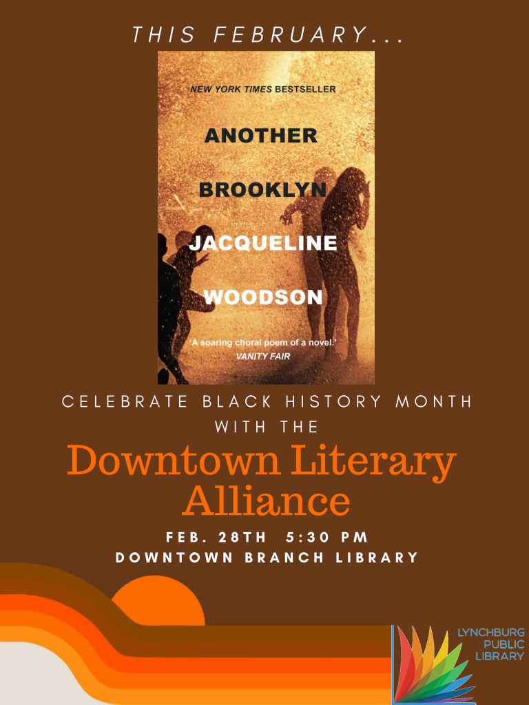 Book Club: Downtown Literary Alliance @ Downtown Branch Library