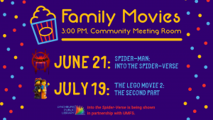 Spider-Man: Into the Spider-Verse @ Community Meeting Room