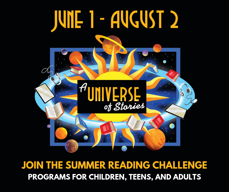 Summer Reading Challenge begins @ Lynchburg Public Library
