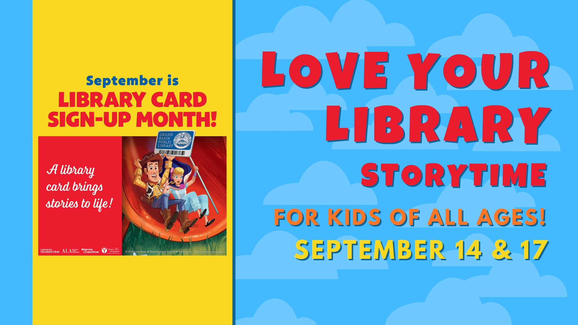 """Love Your Library"" Storytime @ Lynchburg Public Library"